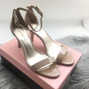Bandolino Madia Nude Open Toe Sandal/Heel